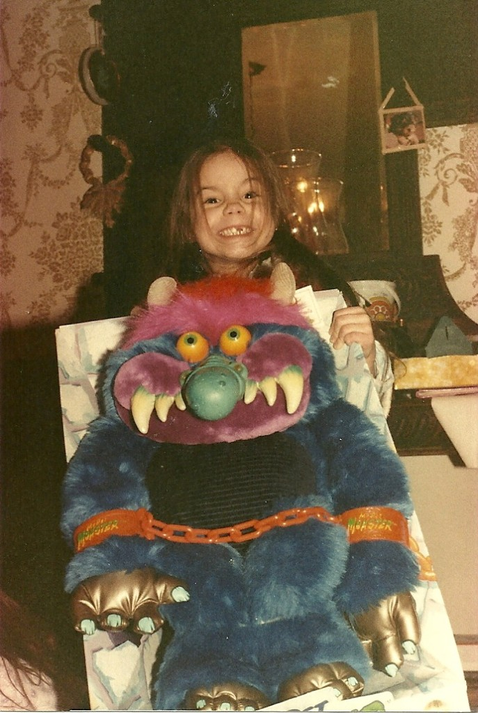 Alison Kawa with My Pet Monster